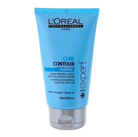 Уход-крем для четкости контура завитка для вьющихся волос, LOreal Curl Contour 150 мл