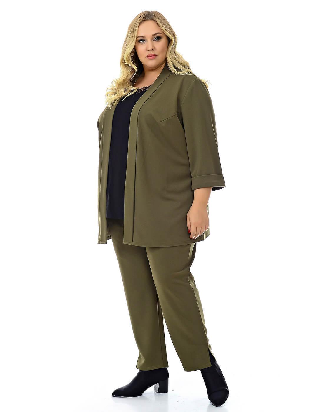 Женские брюки хаки 76 размера