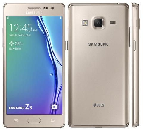Смартфон Samsung Z3 на базе ОС Tizen
