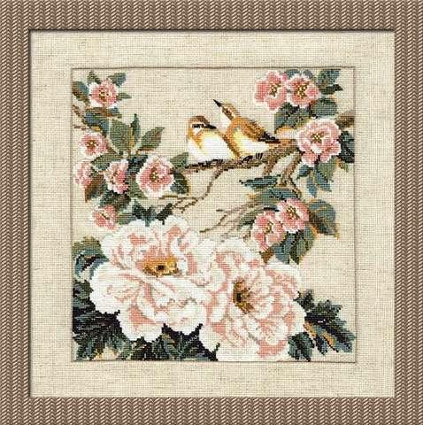 Набор для вышивания крестом «Китайские мотивы. Весна» (486)