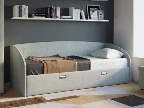 Подростковая Кровать Софа Bono с ящиками для белья