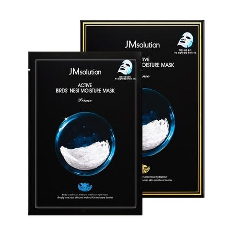 Глубоко увлажняющая тканевая маска с экстрактом ласточкиного гнезда JM Solution Active Birds Nest Moisture Mask Prime