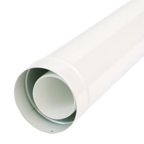 Baxi коаксиальное удлинение DN Ø 110/160 мм, 1 м для Duo-tec MP 90-110 кВт ( KUG 71413381)