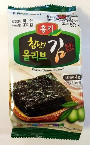Сушеная морская капуста, оливковое масло, 4 гр. (72 шт)