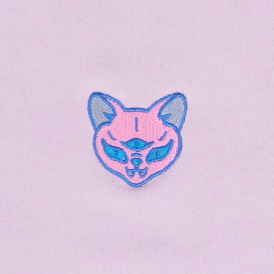 Pink cat / оверсайз свитшот