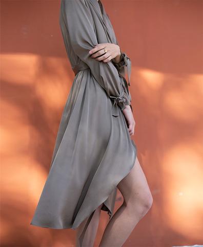 Платье Freja хаки