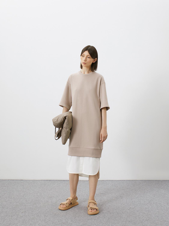 Платье Nala с имитацией рубашки внизу