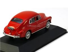 Warszawa 201 dark red 1960 IST063 IST Models 1:43