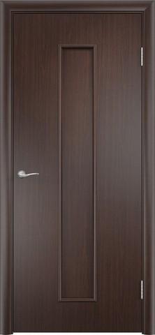 Дверь С-21 (венге, глухая шпон файн-лайн), фабрика Верда