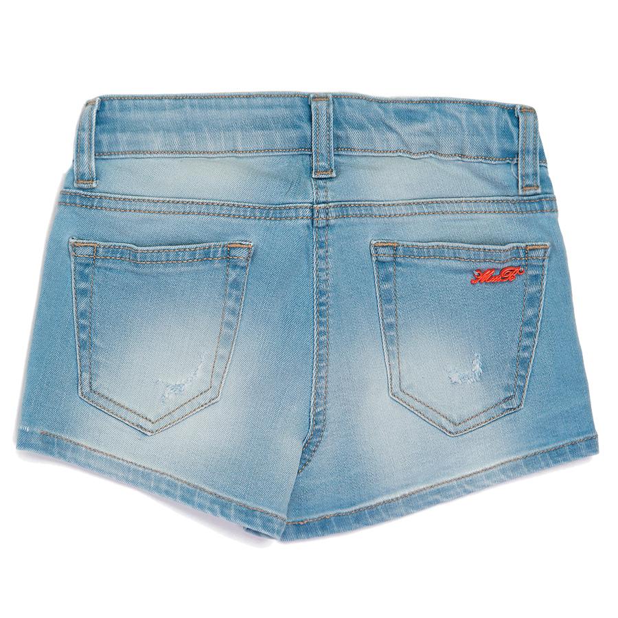 Джинсовые шорты для девочки Miss Blumarine