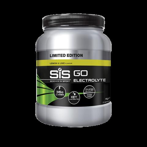 SIS GO Напиток углеводный с электролитами в порошке, вкус Лимон и Лайм, 1кг
