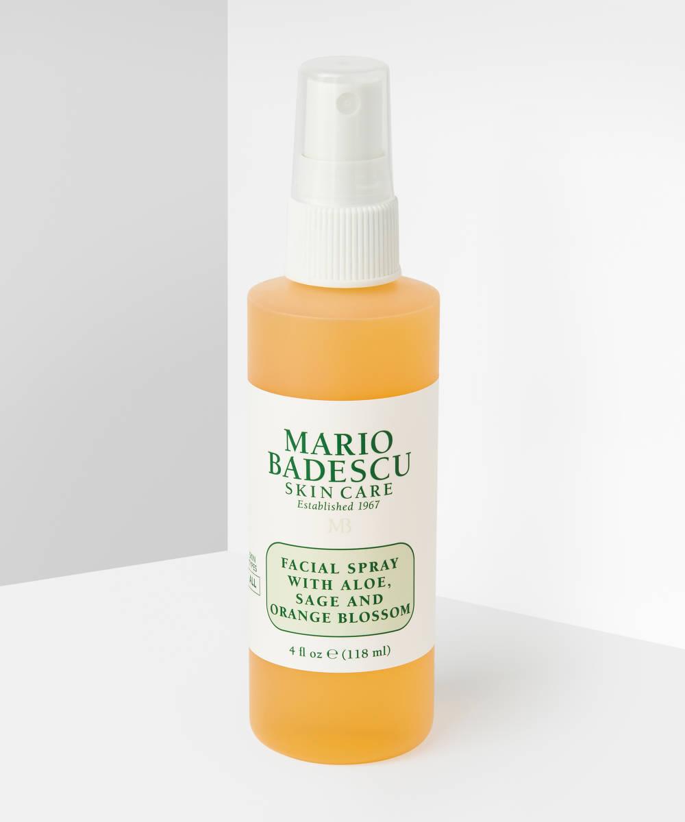 Спрей для лица Mario Badescu with aloe, sage, orange blossom 118мл