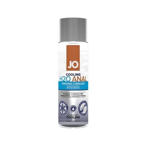 JO Anal H2O Cooling, 60ml Анальный охлаждающий лубрикант на водной основе