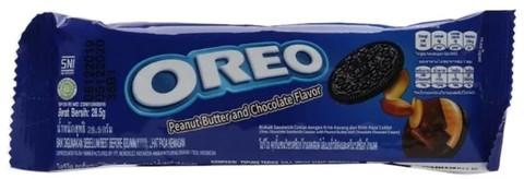 Печенье Oreo Peanut Butter and Chocolate Flavor (133 гр)