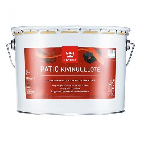 Tikkurila Patio/Тиккурила Патио водоразбавляемая лазурь для садовой плитки