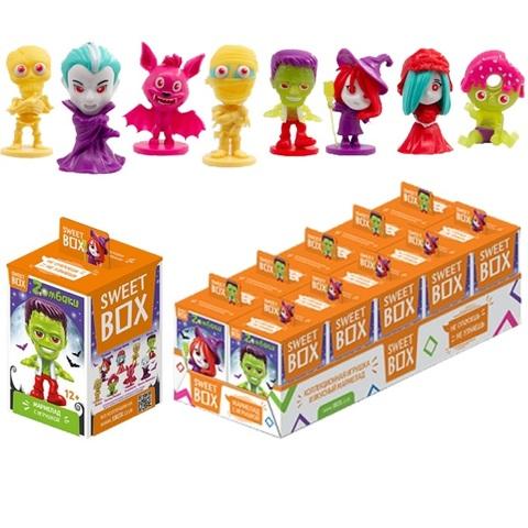 СВИТБОКС ZОМБАКИ 2 Мармелад с игрушкой в коробочке 1кор*12бл*10шт, 10г.