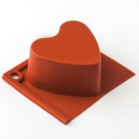 Форма для мыла Кекс сердце 2