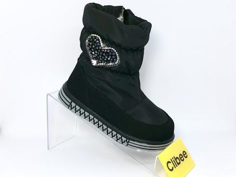 Clibee (зима) K909 Black 22-27