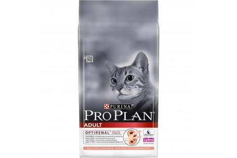 Сухой корм для взрослых кошек Purina Pro Plan Adult, лосось 10кг.