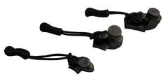Ремонтный набор для молний, никель чёрный, размер S  AceCamp Zipper Repair Black Nickel, S