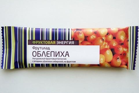 Батончик Фрутилад Облепиха на фрукт 30г (Белое Дерево)