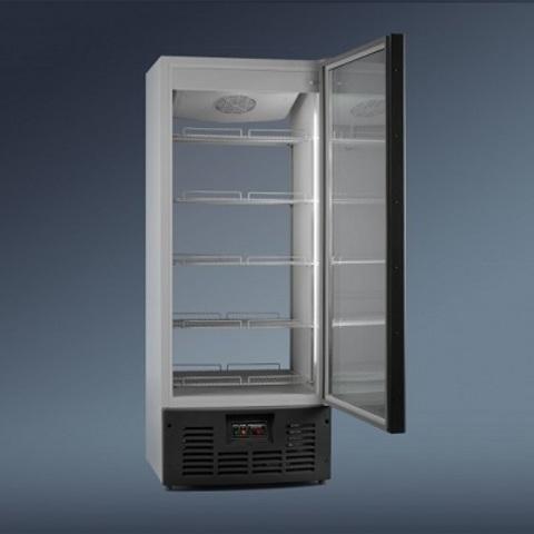 Холодильный шкаф RAPSODY АРИАДА R700 MSW (1 створка)(стенка-стекло)  0С … +8С
