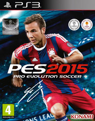 Pro Evolution Soccer 2015 (PS3, русская версия)