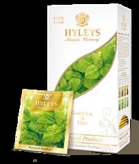 """Чай зеленый """"Hyleys"""" с мятой 25 пакетиков"""