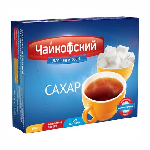 Сахар РУСАГРО ГОСТ Чайкофский кусковой 250 г РОССИЯ