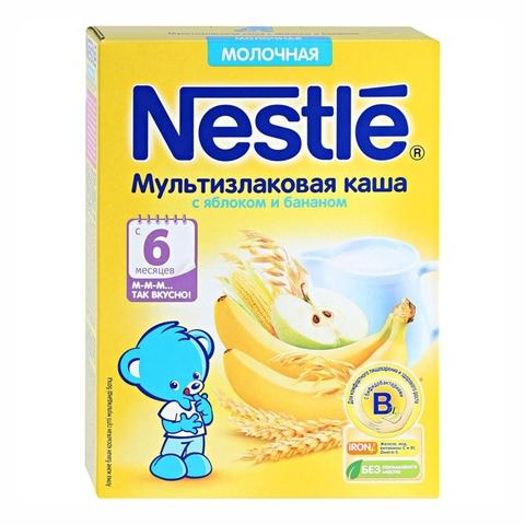 Каша NESTLE Мультизлаковая Яблоко Банан 220 г РОССИЯ