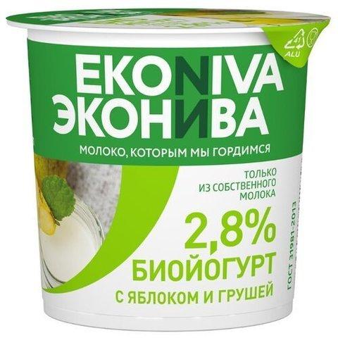 Йогурт Эко Нива 2.8% стакан  ИП