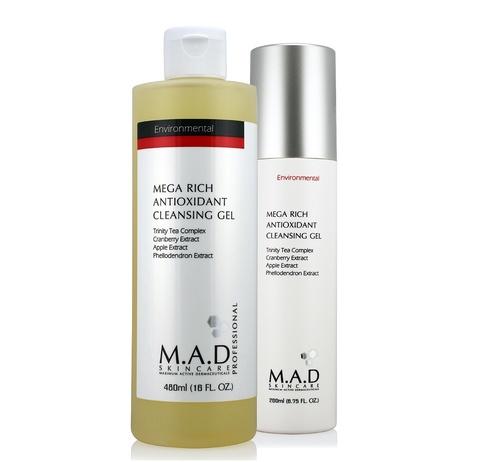Гель очищающий обогащенный антиоксидантами Mega Rich Antioxidant Cleansing Gel, 480 мл.