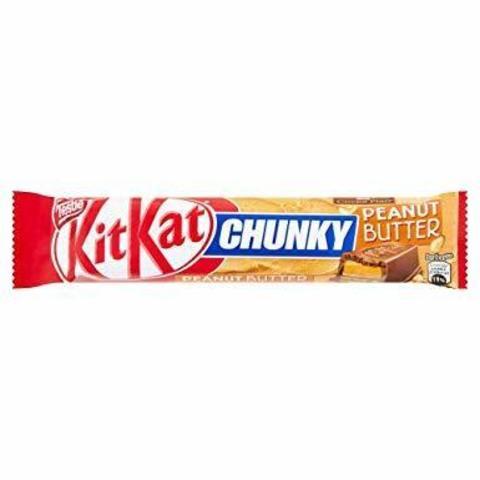 Батончик Kit Kat Chunky peanut Butter 42 гр
