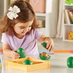 Развивающая игрушка Эмоции с авокадо (9 элементов) Learning Resources, арт. LER6806
