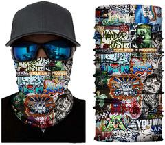 Бандана-труба Skully Tube s135 (граффити) - 2