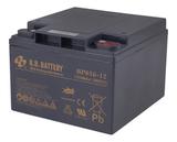 Аккумулятор для ИБП B.B.Bаttery BPS26-12 (12V 26Ah / 12В 26Ач) - фотография