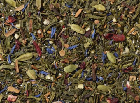 Зеленый чай Глинтвейн