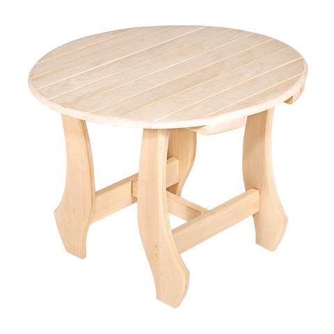 Столик круглый разборный 60х50 см