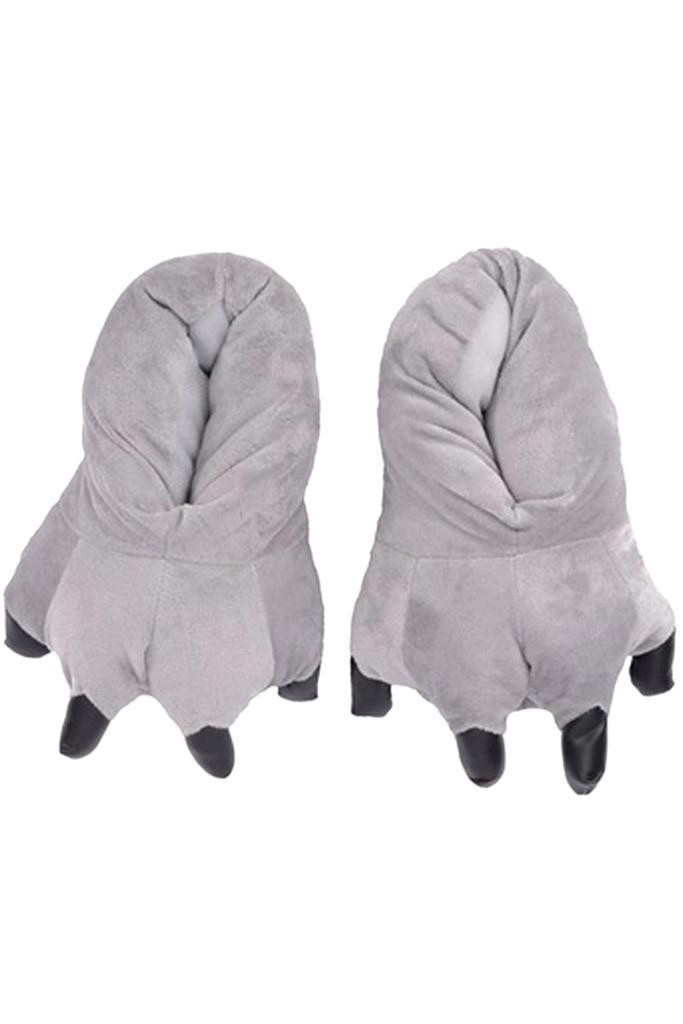 Тапки кигуруми Тапки кигуруми серые slippers-grey.jpg