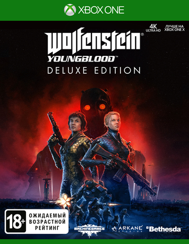 Wolfenstein: Youngblood. Deluxe Edition (Xbox One/Series X, русская версия)