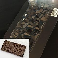 Пластиковая форма для шоколада ср. ПЛИТКА СЛОМАННЫЙ КРИСТАЛЛ 170х85мм