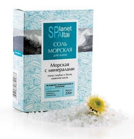 Соль Морская с минералами для ванн фото1