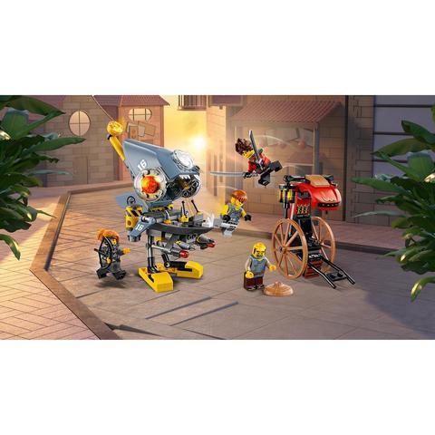 LEGO Ninjago: Нападение пираньи 70629 — Piranha Attack — Лего Ниндзяго