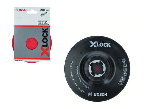 Опорная тарелка X-LOCK 125 мм с липучкой