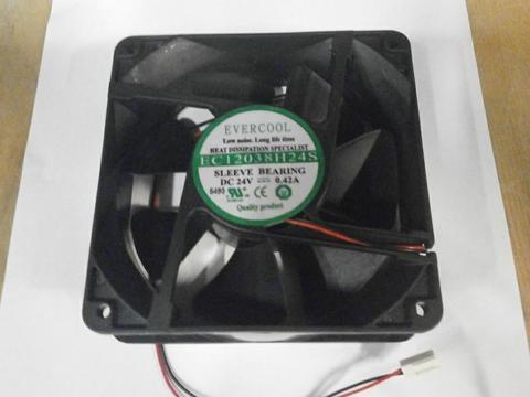Вентилятор QUATTRO ELEMENTI 24В 120*120*25 мм (30600013)