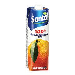 """Сок """"Santal"""" апельсиновый 1л"""