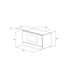 Микроволновая печь Kuppersberg HMW 393 B - схема