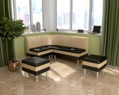 Набор мебели для кухни СЕКРЕТ-2 черный / бежевый