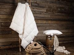 Одеяло пуховое кассетное всесезонное 150x200 «Kinder Snow Grass»