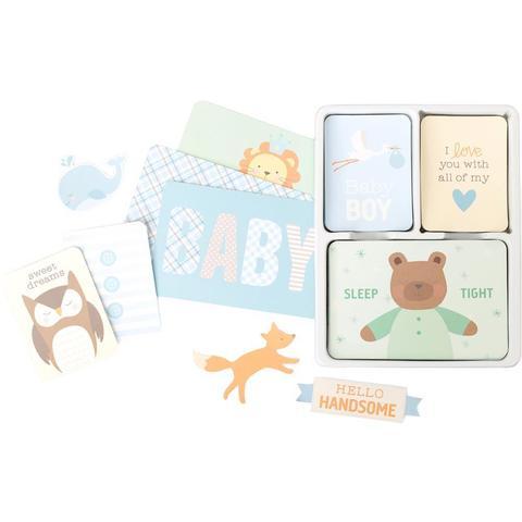 Kit набор карточек и украшений для Project Life- Lullaby Boy - 119шт
